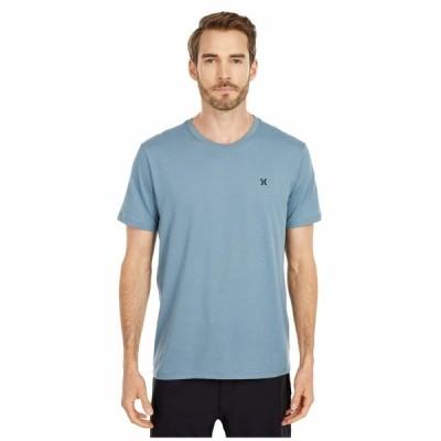 ハーレー シャツ トップス メンズ Dri-Fit Staple Icon Reflective Short Sleeve Tee Ozone Blue