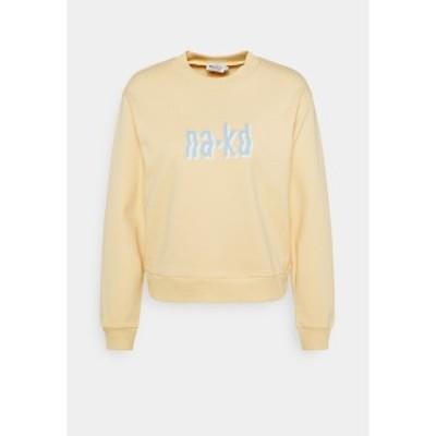 エヌ エー ケイ ディ レディース パーカー・スウェットシャツ アウター Sweatshirt - yellow yellow