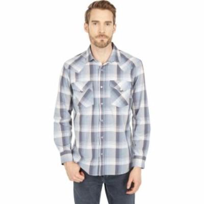 ペンドルトン Pendleton メンズ シャツ トップス Frontier Shirt Long Sleeve Ivory/Blue/Red Plaid