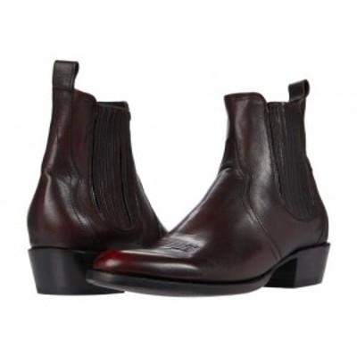 Frye フライ メンズ 男性用 シューズ 靴 ブーツ チェルシーブーツ Grady Chelsea Black Scarlet【送料無料】