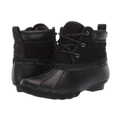 【残り1点!】【サイズ:23cm】スケッチャーズ Skechers レディース シューズ・靴 レインシューズ・長靴 Pond - Lil Puddles Black/Black