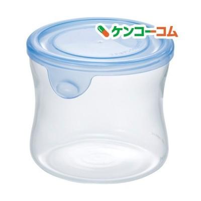 イワキ(iwaki) NEWパック&レンジ 丸型 240ml アクアブルー KBT7400BLN ( 1個 )/ イワキ(iwaki)