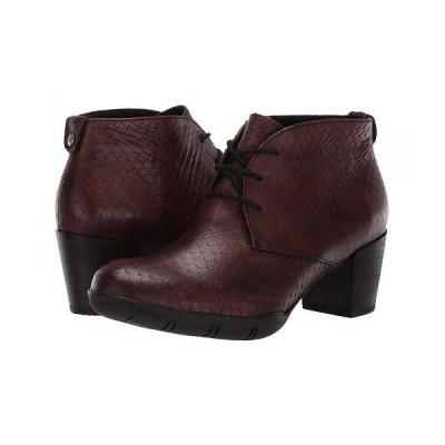 Wolky ウォーキー レディース 女性用 シューズ 靴 ブーツ チャッカブーツ アンクル Bighorn - Cognac