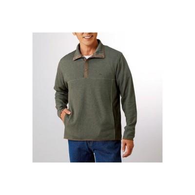 送料無料 メンズ シャツ DECOY デコイ 杢調プルオーバー(同サイズ2色組) メンズ トップス 長袖 カジュアルシャツ p16567
