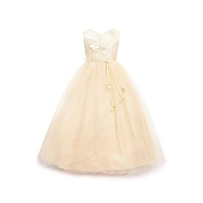 aibeiboutique DRESS ベビー・ガールズ US サイズ: 34 Years カラー: ベージュ