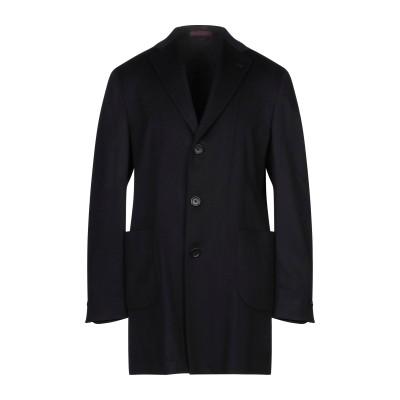SARTITUDE Napoli コート ブラック 56 スーパー100 ウール 90% / カシミヤ 10% コート