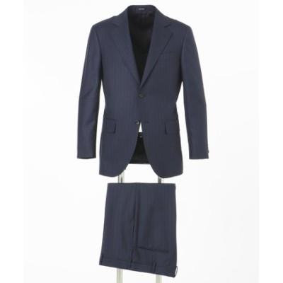 【Essential Clothing】ピンヘッドミックスストライプ スーツ / 総裏