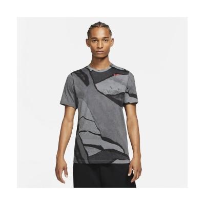 (NIKE/ナイキ)ナイキ/メンズ/ナイキ DFC シーズナル AOP SU21 S/S Tシャツ/メンズ スモークグレー