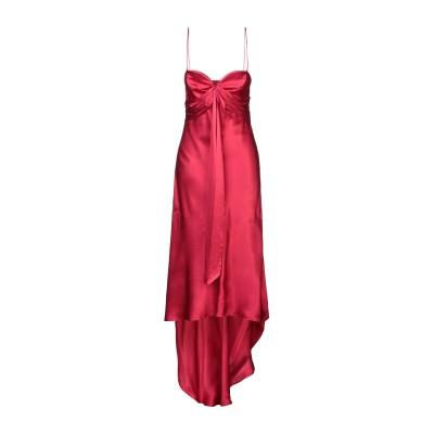 ピンコ PINKO 7分丈ワンピース・ドレス ボルドー 44 アセテート 75% / シルク 25% 7分丈ワンピース・ドレス