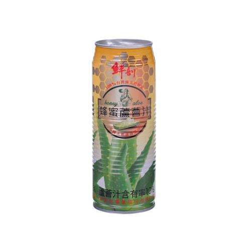鮮剖蜂蜜蘆薈汁CAN520ml