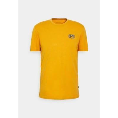 ピアワン メンズ ファッション Print T-shirt - yellow