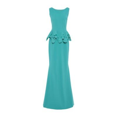CHIARA BONI LA PETITE ROBE ロングワンピース&ドレス ターコイズブルー 42 ナイロン 72% / ポリウレタン 28%