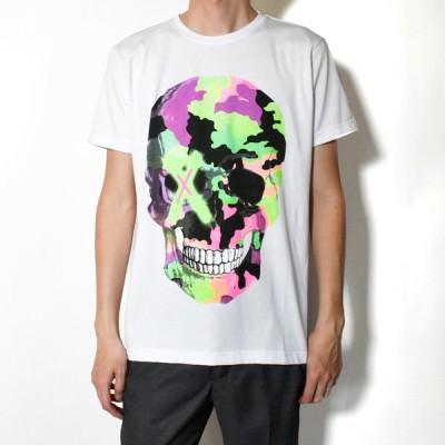【SALE対象★返品交換不可】Forward Milano フォワードミラノ TM162 BIANCO クルーネック 半袖Tシャツ カットソー メンズ