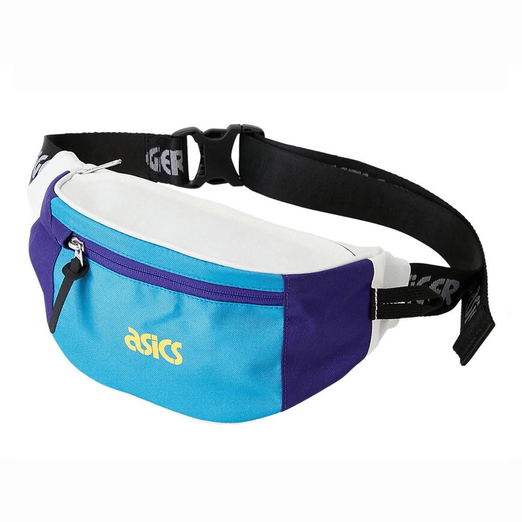 Asics 腰包 Dad Pouch 藍 白 男女款 斜背包 運動休閒 3193A075402 【ACS】