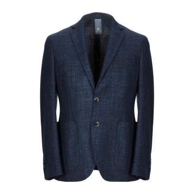 TORNABUONI テーラードジャケット ブルー 54 ウール 80% / シルク 20% テーラードジャケット