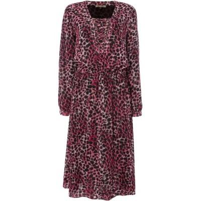 ビバ Biba レディース ワンピース ワンピース・ドレス Animal Print Dress Multi-Coloured