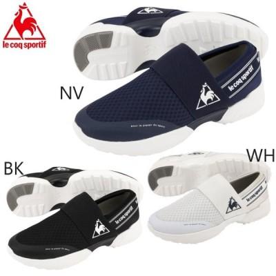 即納 le coq /ルコック レディース スニーカーLA セーヌ PF ダッドランスリップオン / LA SEINE PF DRSPライフスタイル  QL3QJC55  ウォーキングシューズ 靴