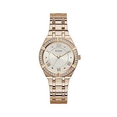 腕時計 ゲス GUESS GW0033L3 GUESS Women's Analog Quartz Watch with Stainless Steel Strap, Rose Gold, 15.7