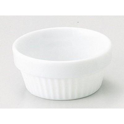 ラメキン ココット/ マーレ 10cmスタックスフレ /ホテル レストラン 洋菓子店 業務用 高級 プレミアム 白磁 ホワイト