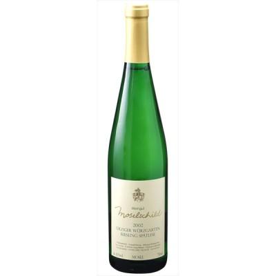 【6本~送料無料】[2002] ユルツィガー ヴュルツガルテン シュペートレーゼ 750ml 【モーゼルシルト】 白ワイン ドイツ モーゼル Spatlese 甘口