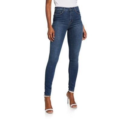 ラジャンス レディース デニムパンツ ボトムス Marguerite High-Rise Skinny Jeans