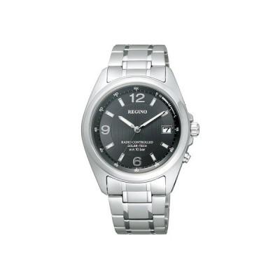 【クーポン利用で8%OFF】RS25-0343H CITIZEN/REGUNO/ソーラーテック電波時計/スタンダード メンズ腕時計 ポイント消化