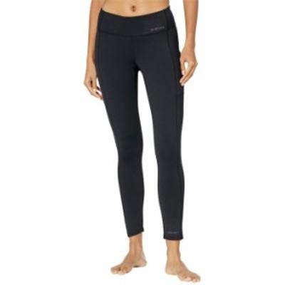 バートン レディース カジュアルパンツ ボトムス Heavyweight X Base Layer Pants True Black