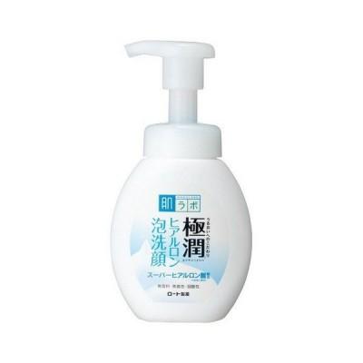 《ロート製薬》 肌ラボ 極潤 ヒアルロン泡洗顔 160mL ボトル