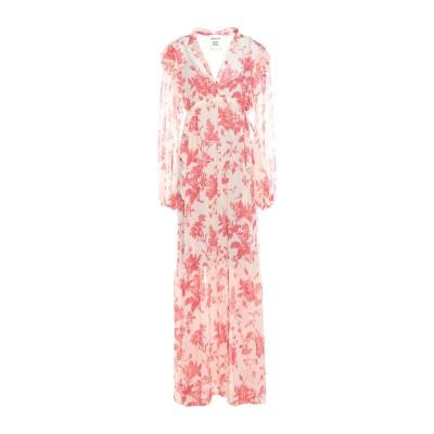 セミクチュール SEMICOUTURE ロングワンピース&ドレス ベージュ 42 ポリエステル 100% ロングワンピース&ドレス