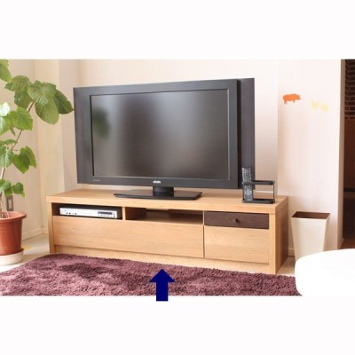 homa TVボード 幅1500mm ナチュラル 1台 東馬 (直送品)