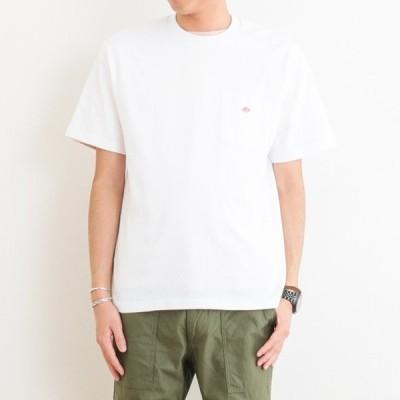 ダントン DANTON クルーネック ポケットTシャツ 半袖 JD-9041 メンズ トップス
