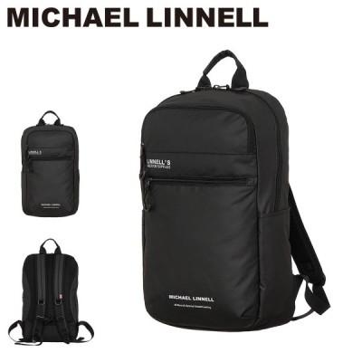 マイケルリンネル MICHAEL LINNELL リュック MLAC-05  リュック バックパック メンズ リフレクター スクエアシルエット 23L [PO10]