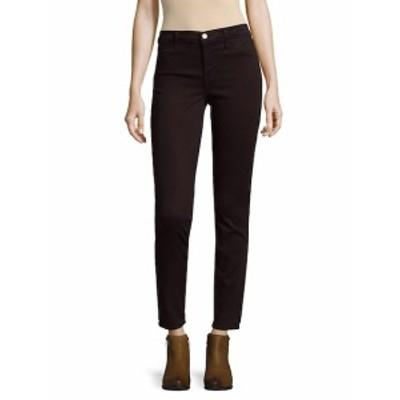 J ブランド レディース パンツ デニム 485 Mid-Rise Sateen Skinny Jeans