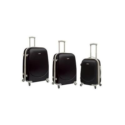 ラゲッジ スーツケース トラベラーズチョイス Travelers Club Barnet Collection 3 PC Exp. HS Spinner Set Black PR-65003-001