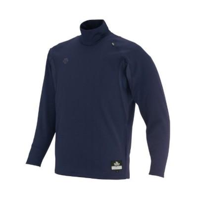 DESCENTE(デサント) 野球 アンダーシャツ ハイネック 長袖 リラックスフィットシャツ ダークネイビー Sサイズ STD65