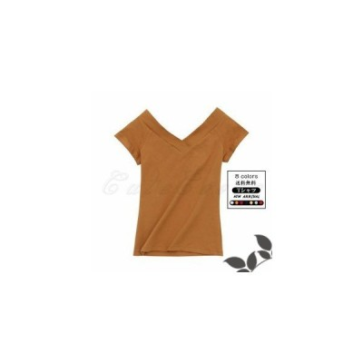 Tシャツ レディース 細身 無地 半袖 Vネック シンプル tシャツ 着痩せ トップス カジュアル きれいめ おしゃれ