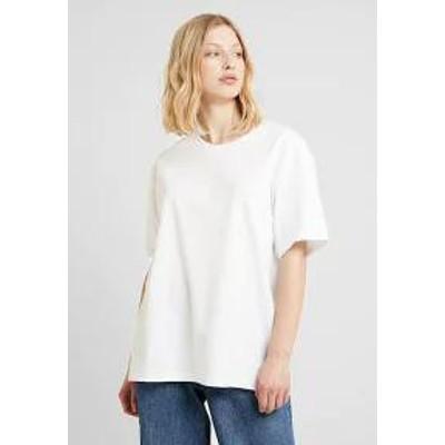 Weekday レディーストップス Weekday EASY - Basic T-shirt - white whit