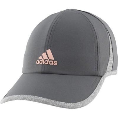 アディダス 帽子 アクセサリー レディース adidas Women's SuperLite Cap Gray Dark 01