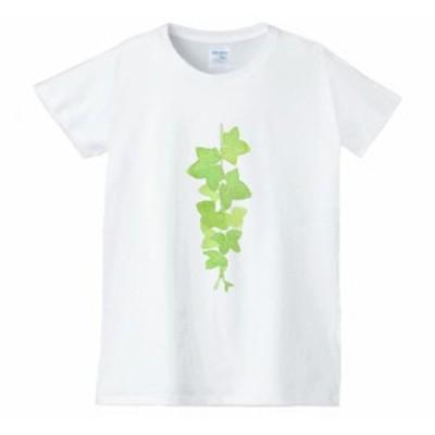 レディース 花 フラワー Tシャツ 白