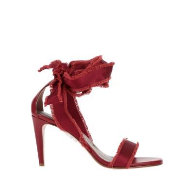 RED(V) サンダル レンガ 37 革 / 紡績繊維 サンダル