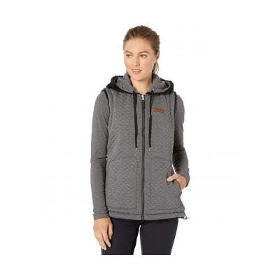 Obermeyer オーバーメイヤー レディース 女性用 ファッション アウター ジャケット コート ベスト Greyson Reversible Vest - Black