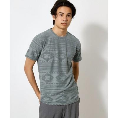 tシャツ Tシャツ PILE JACQUARD TEE/パイルジャガードTシャツ