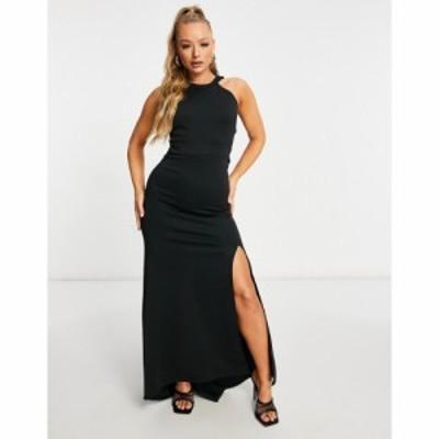 ジェイデッドローズ Jaded Rose レディース ワンピース ワンピース・ドレス High Neck Cut Out Back Dress In Black ブラック
