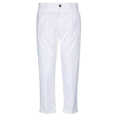 ピーティーゼロウーノ PT01 パンツ ホワイト 30 ナイロン 60% / コットン 36% / ポリウレタン 4% パンツ