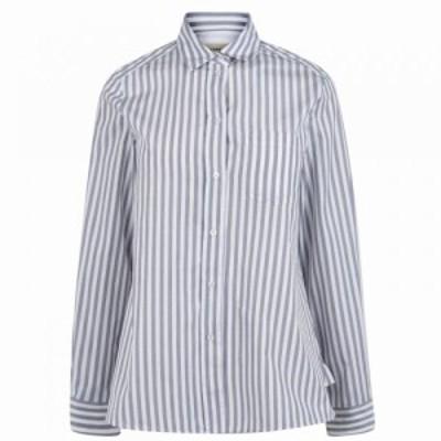 マックスマーラ Max Mara Weekend レディース Tシャツ トップス MMW Stripe Shirt stripe blue
