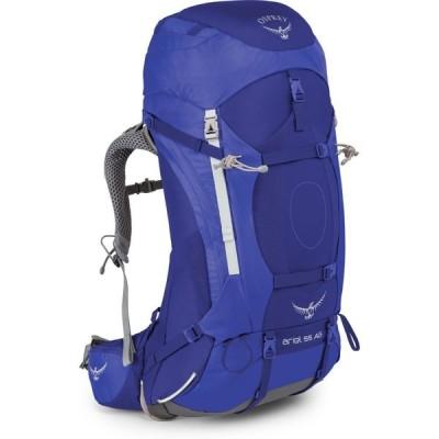 オスプレー Osprey レディース ハイキング・登山 ariel 55 hiking backpack Tidal Blue