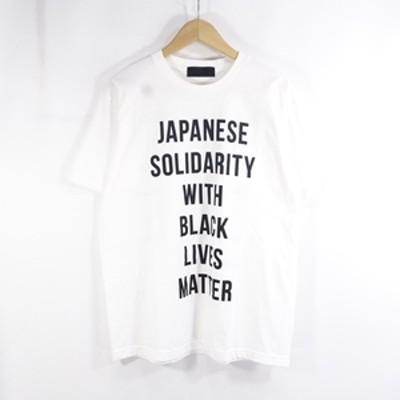 HUMAN MADE 19aw BLACK LIVES MATTER ヒューマンメイド ブラックライブスマター Tシャツ L 大名店【中古】