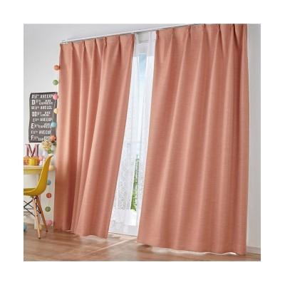 無地調ストライプ柄ドビー織遮光・防炎カーテン ドレープカーテン(遮光あり・なし) Curtains, blackout curtains, thermal curtains, Drape(ニッセン、nissen)