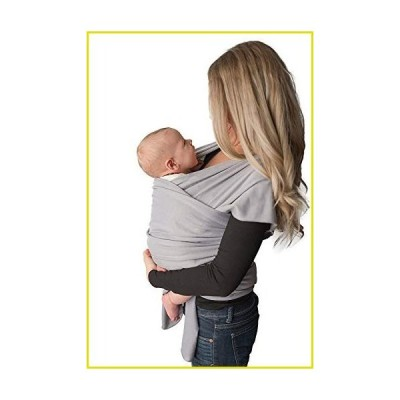 送料無料 ベビースリング Baby Wrap Carrier, Easy To Put On- Swaddle Blanket for Close Comfort - Adjustable Breastfeeding Cover - L