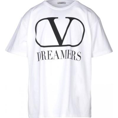 ヴァレンティノ VALENTINO メンズ Tシャツ トップス t-shirt White